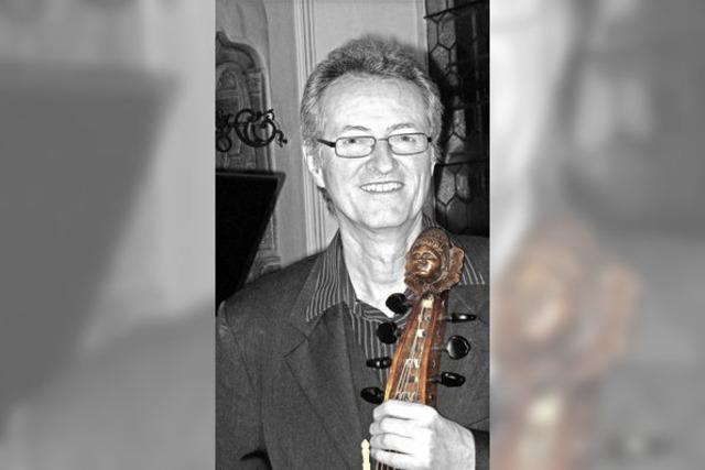 Musica Cerucis mit Ekkehard Weber in Emmendingen