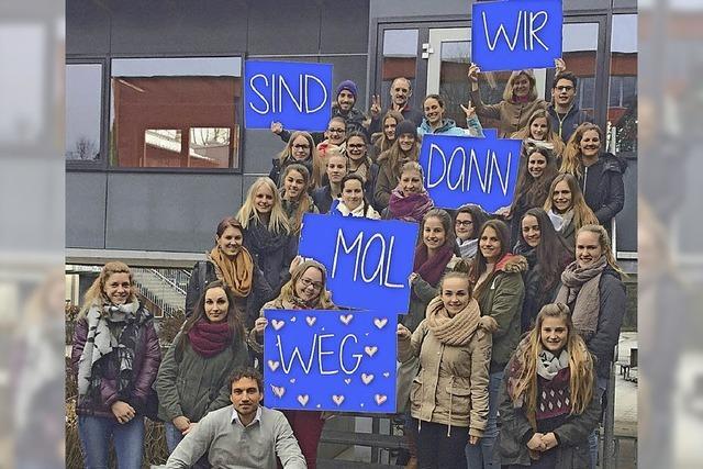 BSZ-Schüler freuen sich auf Reise nach Fernost