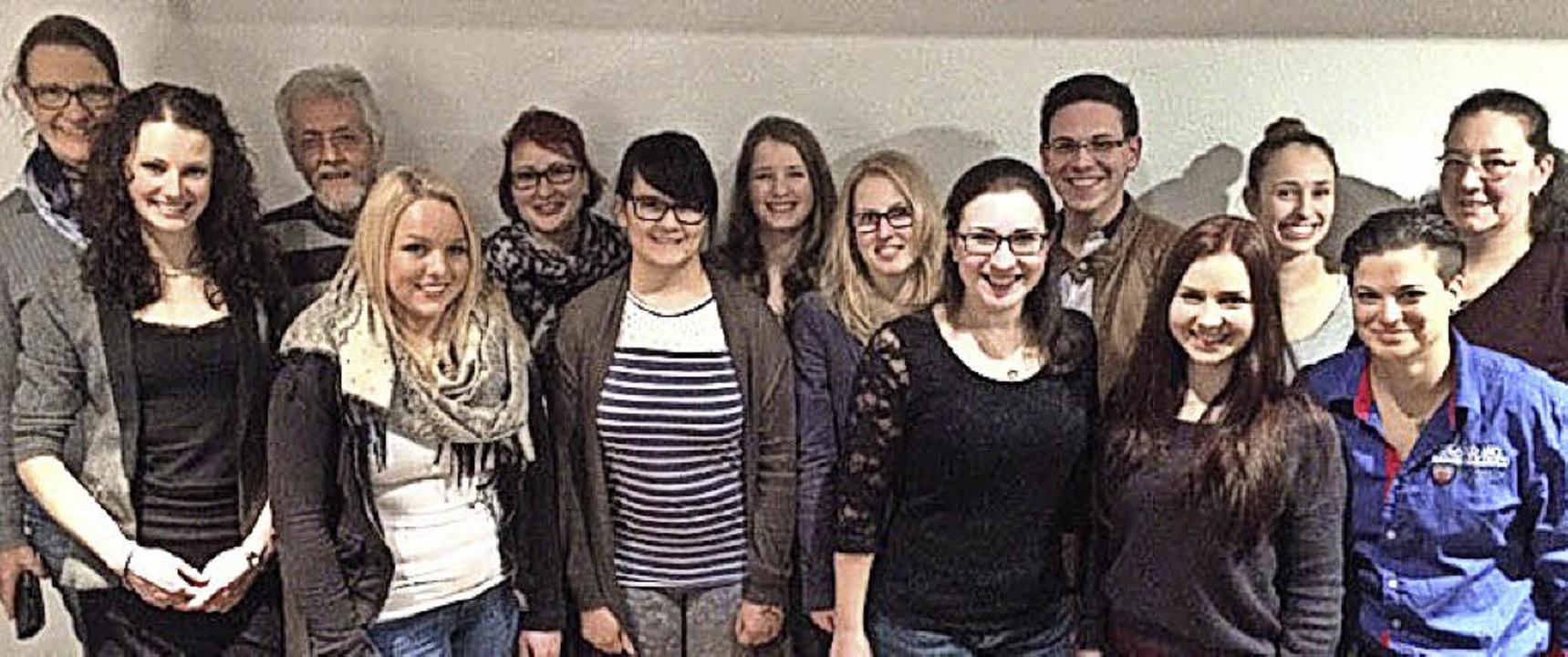 Die neuen Vorstandsmitglieder des Reit- und Fahrsportvereins.   | Foto: ZVG