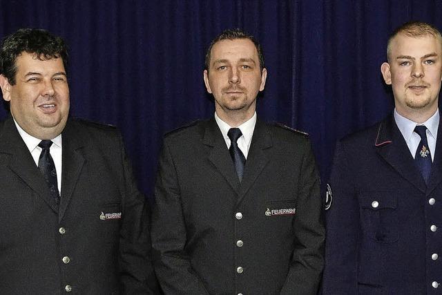 Neues Führungsduo für die Feuerwehr