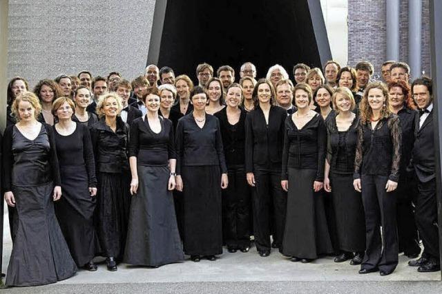 Die Freiburger Camerata Vocale tritt im Konzerthaus mit dem Kammerorchester Basel auf