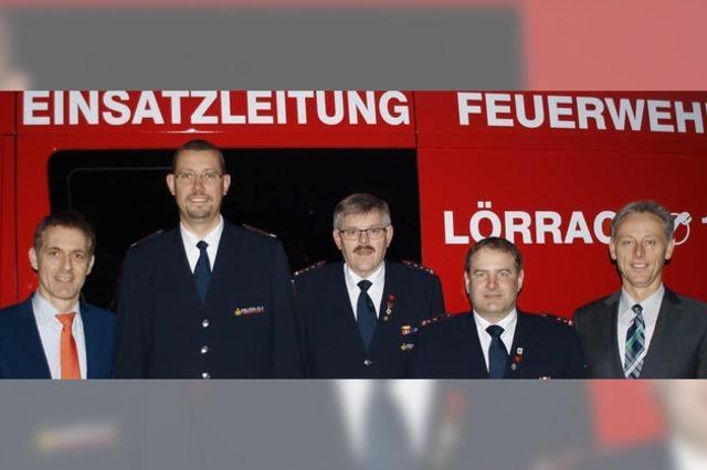 Christian Heske ist jetzt neuer Stadtbrandmeister von Lörrach