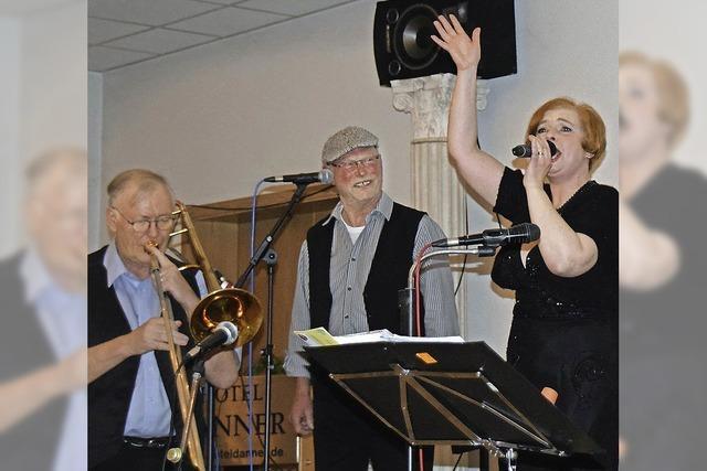 Dixie, Jazz, Blues und eine mitreißende Sängerin