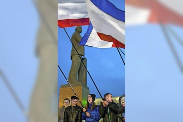 Annexion der Krim bleibt umstritten und ist wohl unumkehrbar