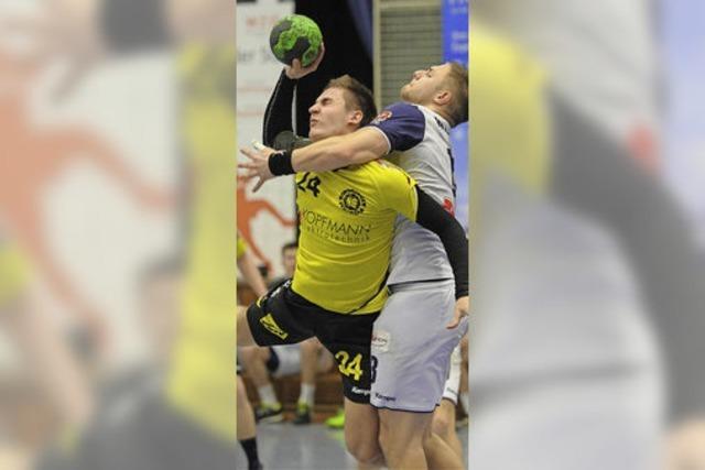 Schmerzhafte Niederlage für die SG-Handballer