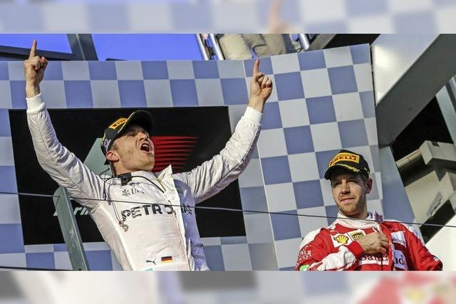 Rosberg setzt ein Ausrufezeichen