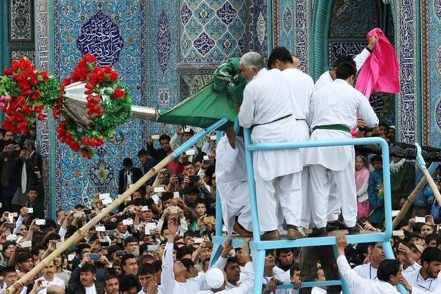 Afghanen feiern Neujahr