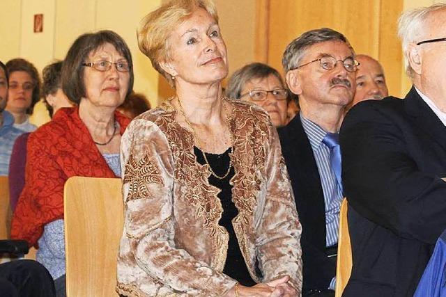 Stadtrechtsmedaille für Konzertorganisatorin Siglind Bruhn