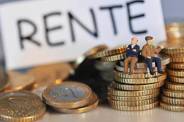 Renten steigen kräftig im Westen und im Osten