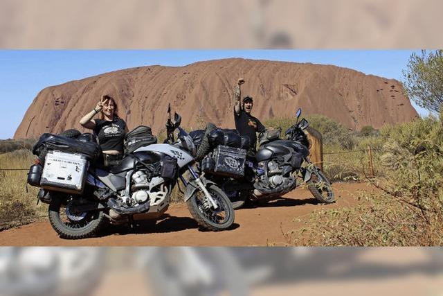 Fotovortrag in Emmendingen: Mit dem Motorrad um die Welt