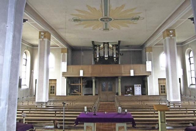 Start für Renovierung der Kirche