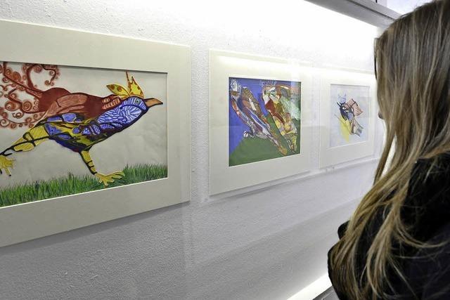 Die Volkshochschule Freiburg präsentiert Abschlussarbeiten des Kunstkollegs