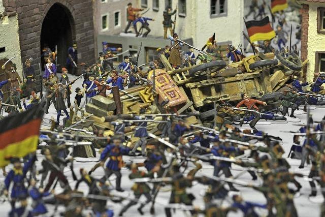 Ulrike Halbe-Bauer referiert über die Revolution von 1848 in Freiburg