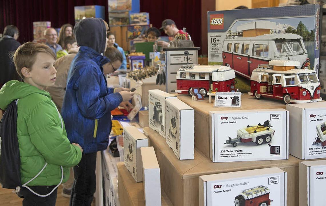 Realitätsgetreue Modelle sind noch ein...iv junge Erscheinung in der Lego-Welt.  | Foto: Volker Münch