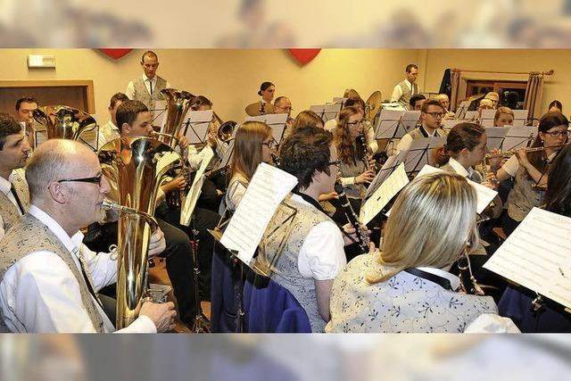 Orchester sorgt für Frühlingsstimmung