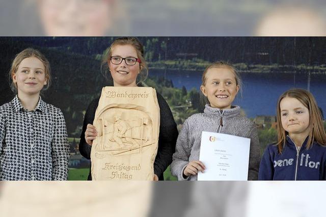 Wanderpokal – ein Jahr an der Grundschule Schluchsee