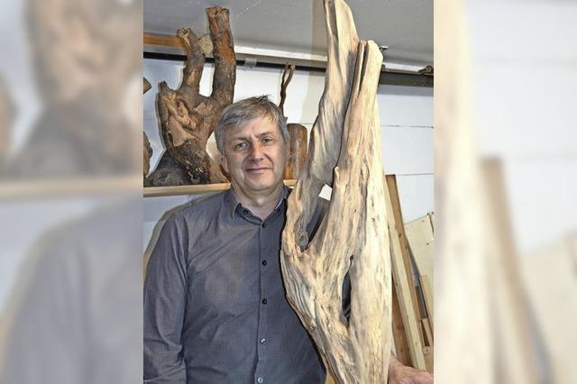 Freude am wilden Holz