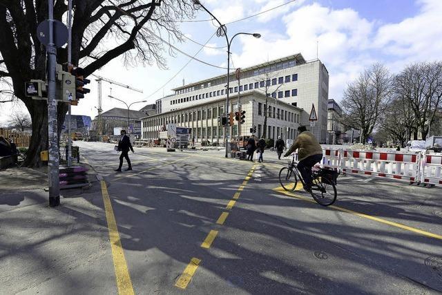 Planänderung bei der Rotteck-Tram: Stadt will sechsstelligen Betrag sparen