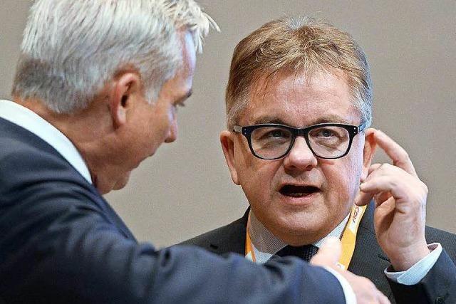 Wolf und Strobl demonstrieren Einigkeit in der CDU