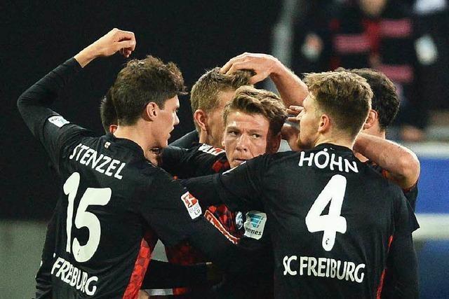 SC Freiburg schlägt KSC mit 1:0 und ist Tabellenführer