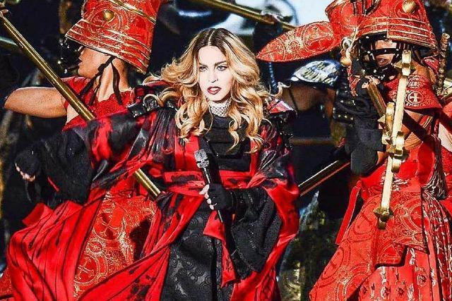 Bei Madonna nehmen die Allüren überhand