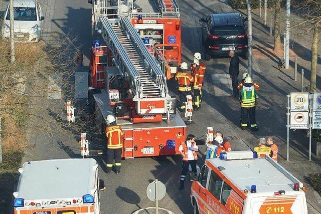 Feuerwehreinsatz in der Weiler Innenstadt
