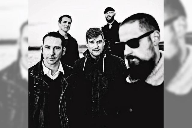 """Die Band Turbostaat präsentiert ihr Album """"Abalonia"""" im Café Atlantik in Freiburg"""