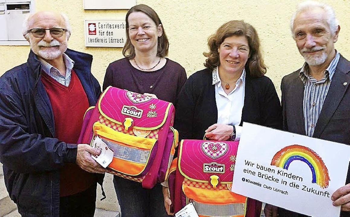 Julio Scrulijes, Christine Wondrak-Bru...emel und Reinhard Schmitt (von links)   | Foto: ZVG