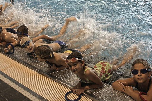 Schwimmschule als Markenzeichen