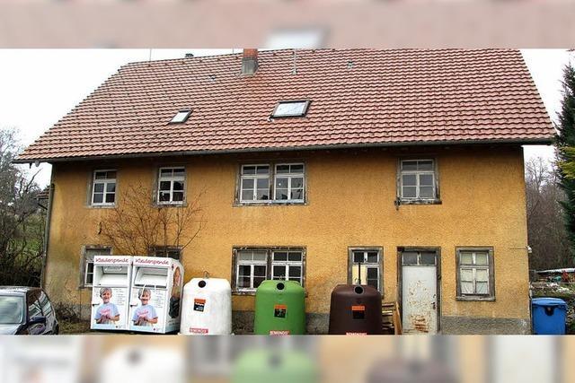 Ein Haus für Flüchtlinge in Riedern