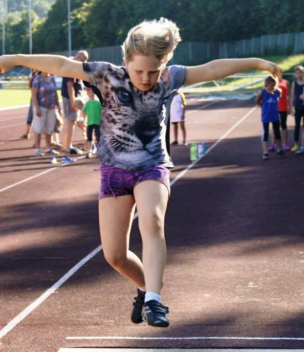 Das Abend-Schülersportfest im Juli  wa...n im vergangenen Jahr Akzente setzte.   | Foto: Lacher