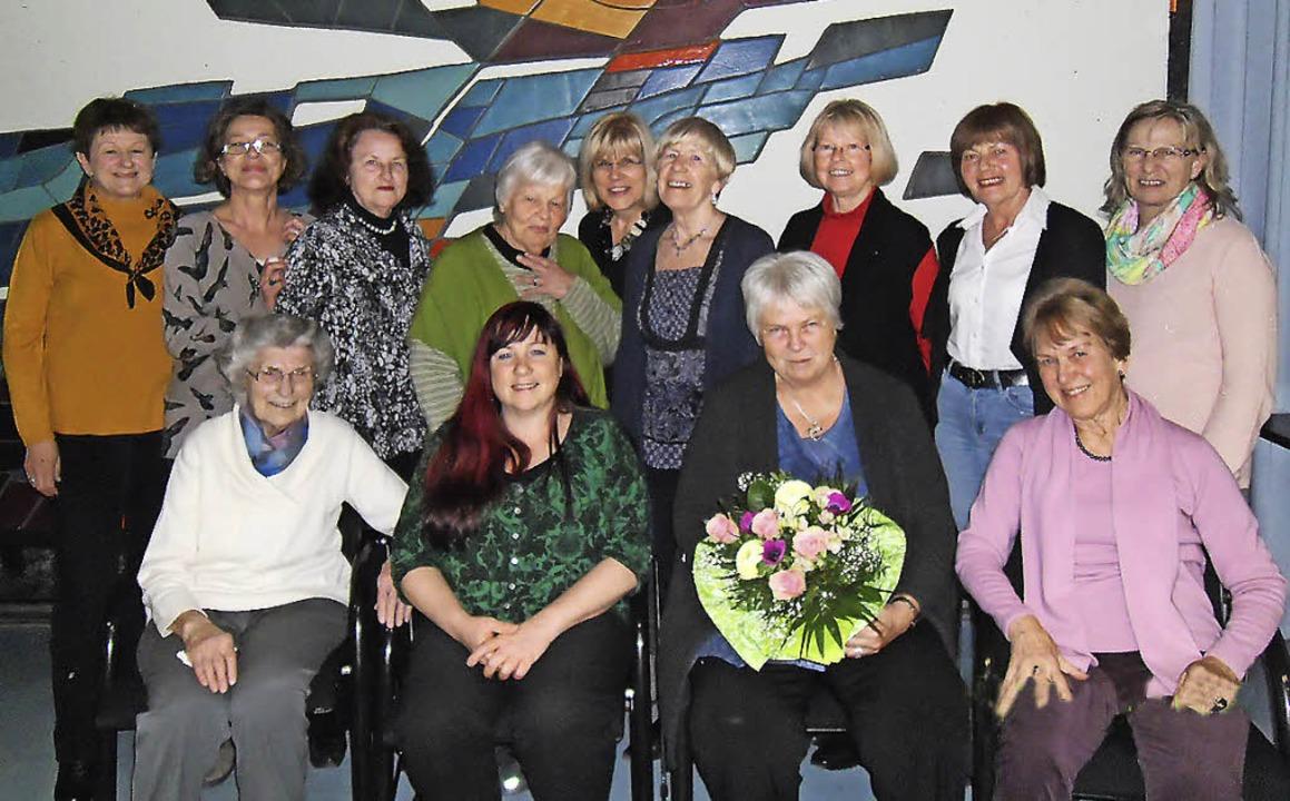 Gute Stimmung beim Markgräfler Damen-Cup in Bad Krozingen     Foto: privat