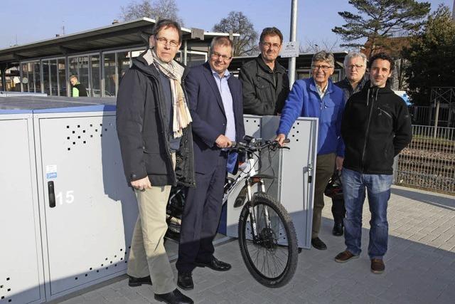 Ein Garagendorf für Fahrräder