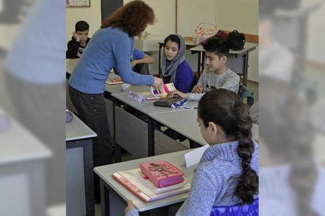 Am Goethe-Gymnasium gibt es eine neue Integrationsklasse