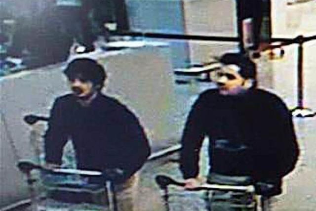 Ermittler identifizieren wohl zwei Attentäter vom Brüsseler Flughafen