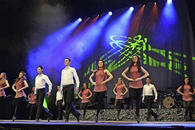 Danceperados of Ireland im Gloria-Theater in Bad Säckingen