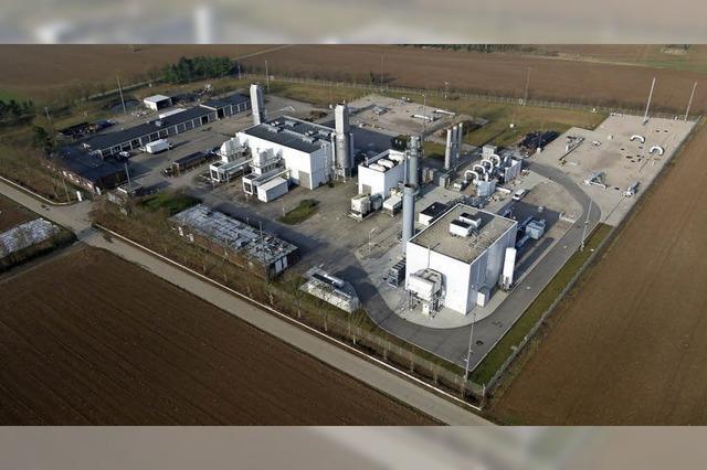 Beschleunigung für Erdgas