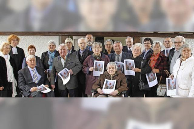 Eichene Konfirmation in Schwanau