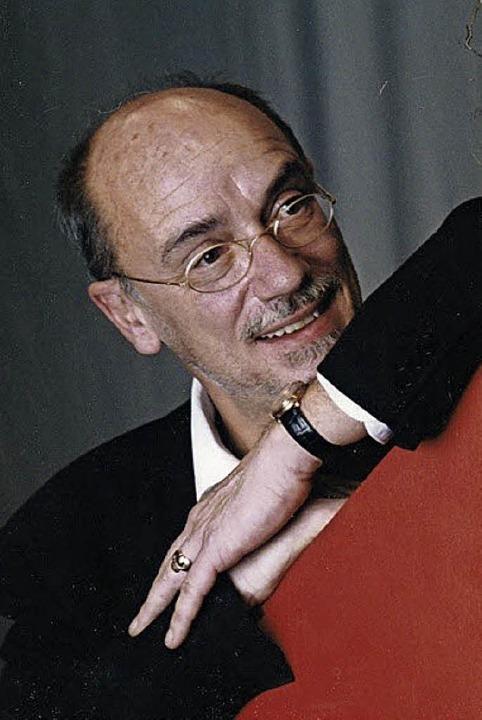 Ein Großer der modernen Theaterwelt: Herbert Wernicke  | Foto: Privat