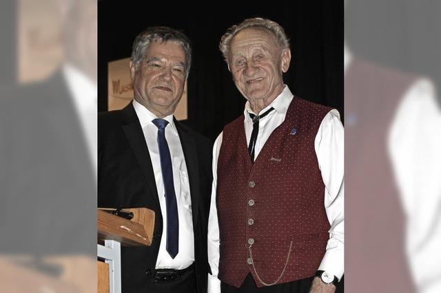 Seit 70 Jahren aktiv im Musikverein Eschbach