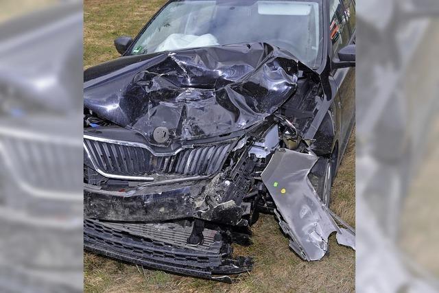 Schwerer Unfall auf der B 31