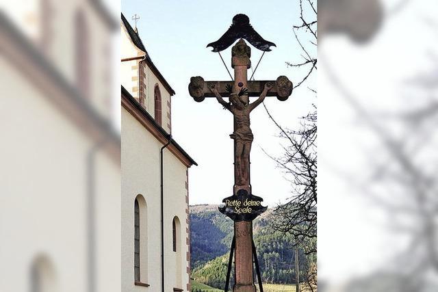 Kreuze findet man hier überall