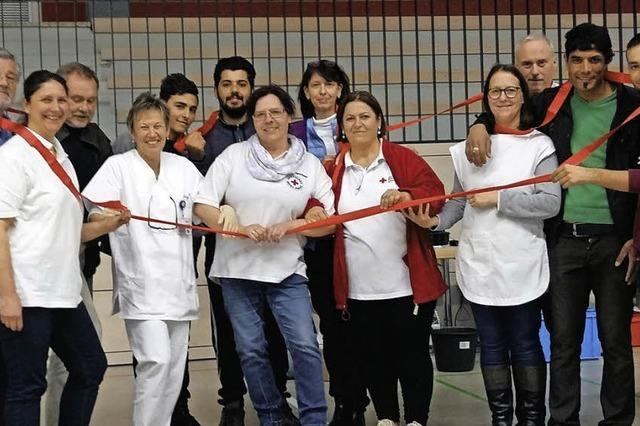 Integration beim Blutspenden