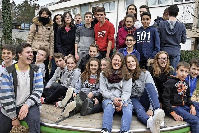 17 Franzosen zu Gast