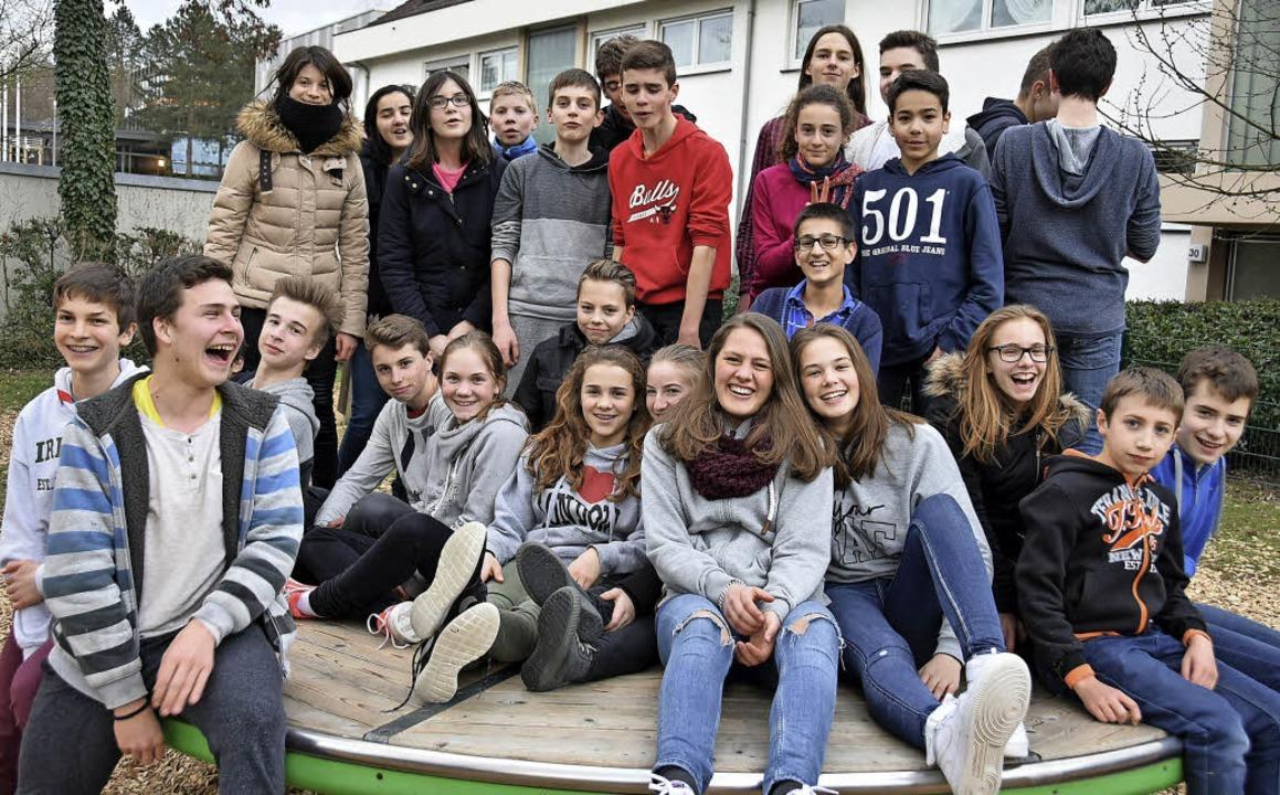 Erster Schüleraustausch mit französischer Partnerstadt Meung-sur-Loire  | Foto: Andrea Steinhart