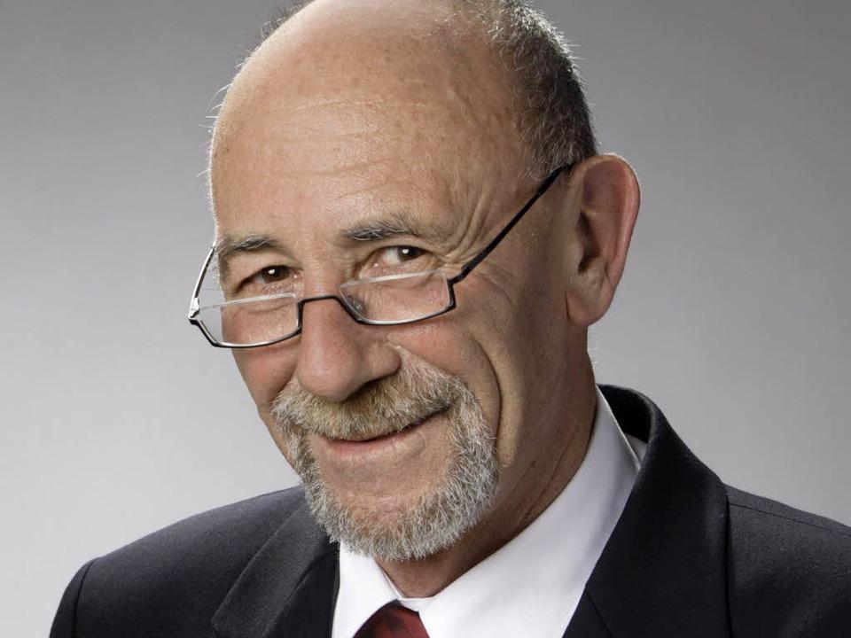 Mann der klaren Worte: Werner Schölly  | Foto: Bamberger