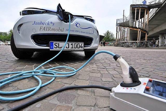 Schäuble lehnt Kaufprämie für Elektroautos ab