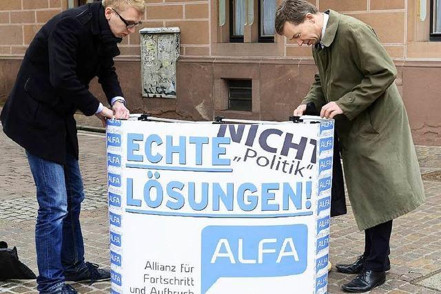 Polizei ermittelt wegen Bedrohung von Alfa-Mitgliedern