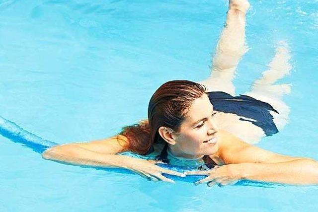 Bewegung im Wasser ist mehr als stupides Kachelzählen