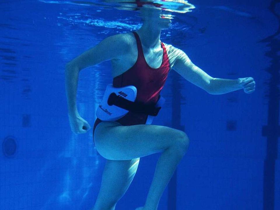 Immer kräftig strampeln und schieben: ...and macht es den Übenden nicht leicht.    Foto: Martina Sandkühler (Jump)